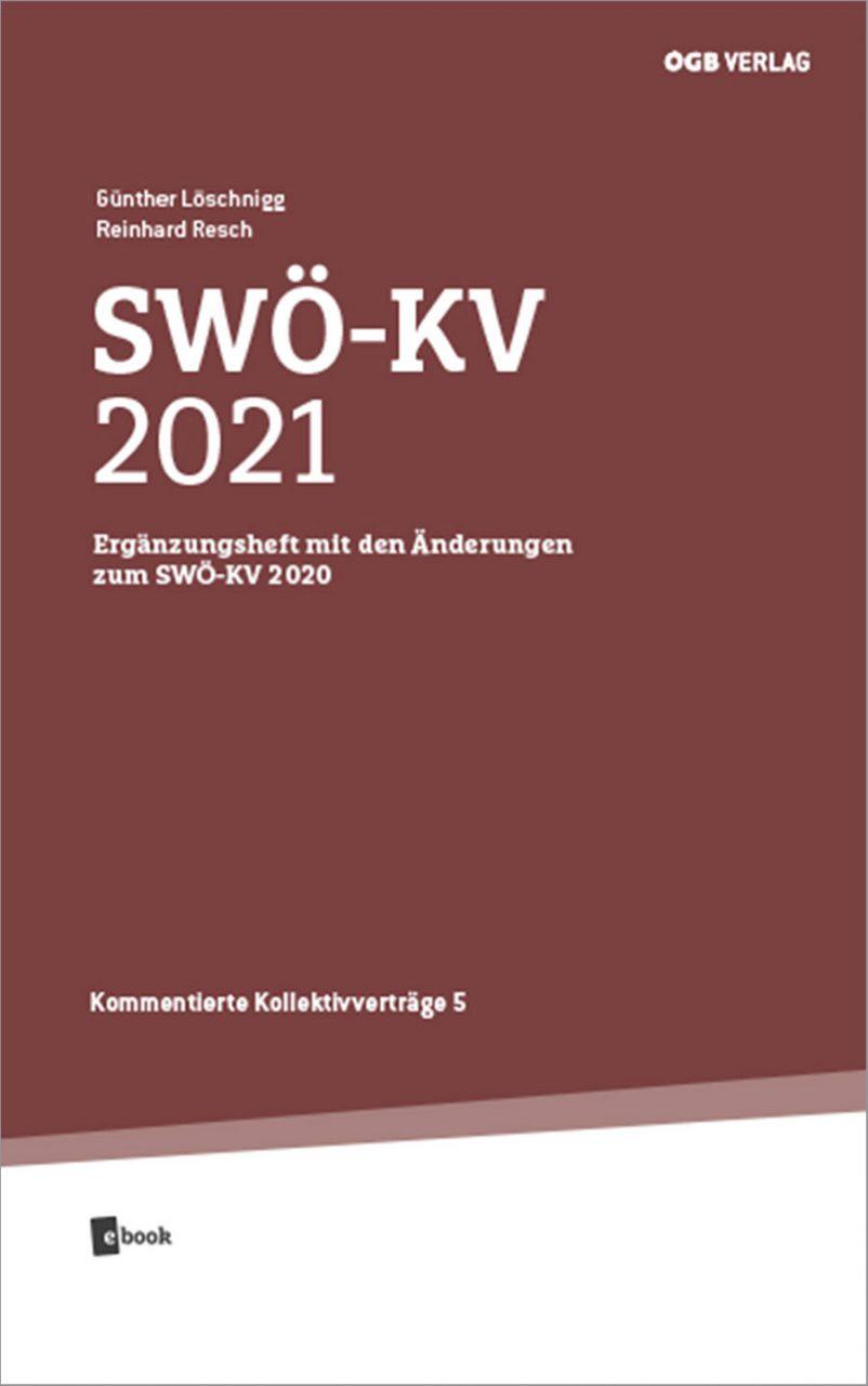 SWOE-KV 2021 Ergaenzungsheft